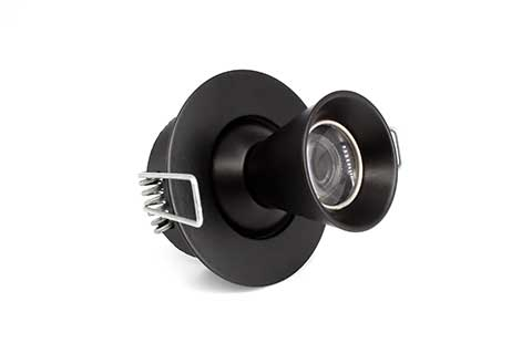 ufo 10da downlight fitting for fibre optic lighting