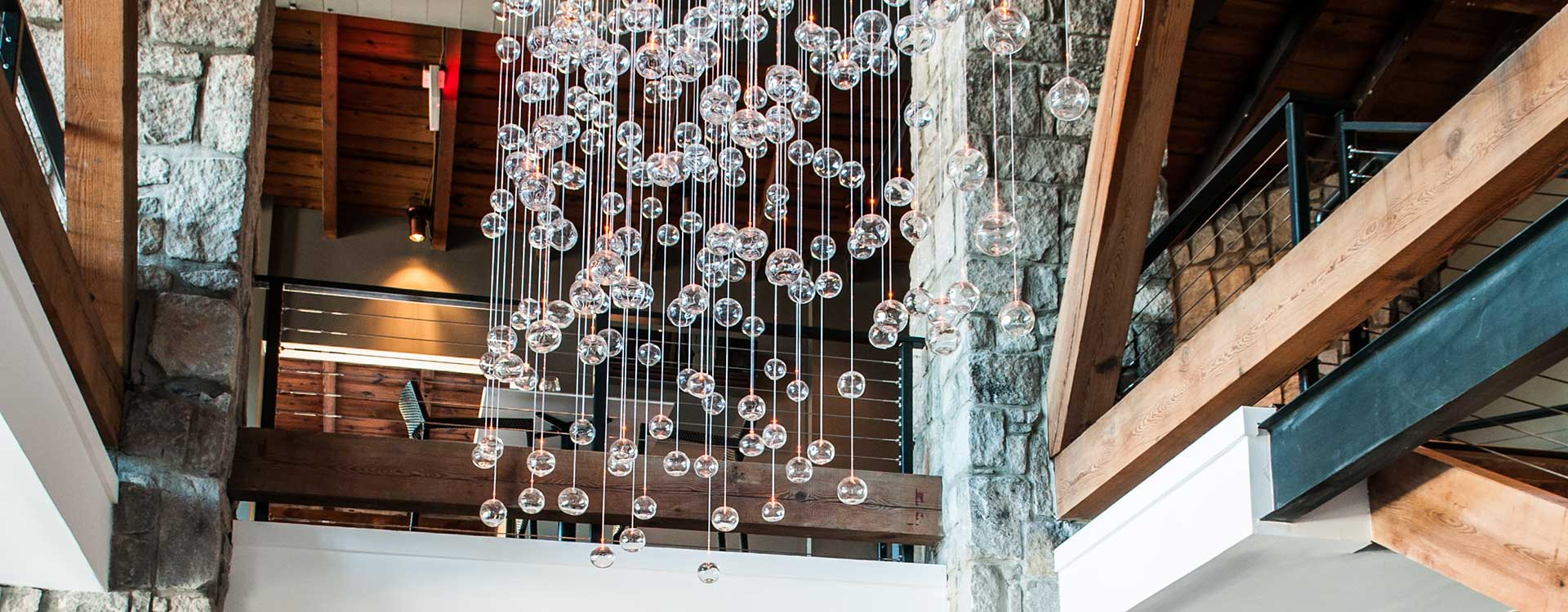 fibre optic lighting in the hotel domestique