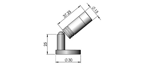 mbl1 led fitting cad image