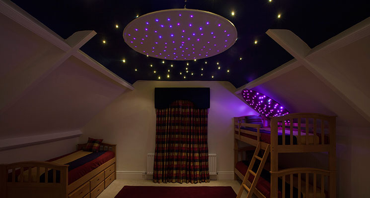 fibre optic star ceiling ring image 1